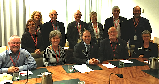 National Landcare Network meeting with Minister Frydenberg